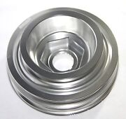 Silver Crank Pulley For B Series Only 88-00 Civic B 88-91 Crx 93-97 Del Sol