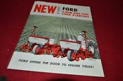 Ford Tractor 4 Row Pull Type Corn Planters Dealer's Brochure Lcpa3