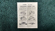 Lionel 6448 Exploding Target Car Instructions Photocopy