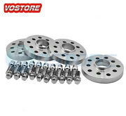 4 15mmand20mm Hubcentric Wheel Spacers Adapters 5x100 /5x112 For Volkswagen Audi
