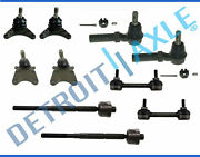 Upper Lower Ball Joint Sway Bar Tierod Kit Colorado - 2wd Coil Spring No Z71