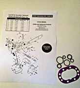 Seal Kit - Greenlee / Fairmont H6200 A/b And Hcs Hydraulic Chain Saw Part 40789