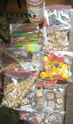 Rare Variety 425 Pieces Vtg Constuction Toy Jumbo Tinkertoy And Super Structs Htf
