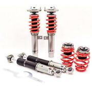 Godspeed Mono-rs Coilover Suspension Damper Kit For 99-05 Bmw 3 Series E46 Rwd
