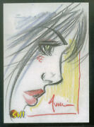 Billy Tucci's Shi Series 5finity/2012 Sketch Card By Bill Tucci 1 Of 30