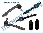 6pc Front Inner Outer Tie Rod End And Rack Boots Kit 1988 - 1991 Honda Civic Crx