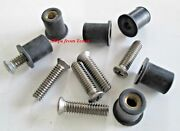 Roof Rack Machine Stainless Steel Screws And Rubber Well Nuts 1/4-20