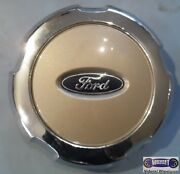 And03905-and03908 Ford F150 Used Center Cap Arizona Beige Blue Logo 7-3/4 Dia 3559b