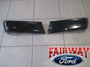 15 Thru 20 Ford F150 Oem Genuine Ford Rear Painted Step Bumper With Prox Sensors