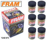 6-pack - Fram Ultra Synthetic Oil Filter - Top Of The Line - Framand039s Best Xg5