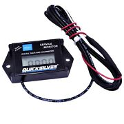 Quicksilver Digital Tach And Hour Meter - Mercury Outboard - 79-8m0050399