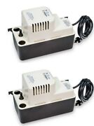 2 Little Giant 554401 Vcma-15ul Automatic 1/2 Gallon Condensate Removal Pumps