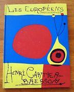 Henri Bresson - Les Europeens/the Europeans - 1955 1st French Edition