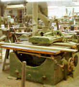 Table Saw 1000 Off American Straight Line Rip 25hp3ph Belt Drive, Power Feed