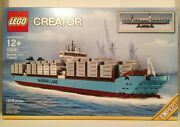 Lego 10241 Maersk Line Triple-e Boat New Retired 1518 Pieces