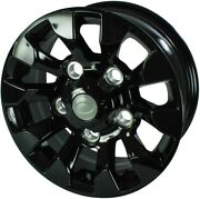 Land Rover 90/110 16 Sawtooth Alloys Black And 235/85x16 Insa At Tyre Set Of4