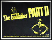 The Godfather Part Ii Part 2 Al Pacino 1974 Rare Subway Advance Poster