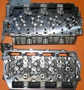 New Pair Ford F350 6.7 Ohv Power Stroke Diesel Cylinder Heads 2011-2014