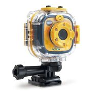 Vtech Kidizoom Action Cam - Yellow / Black - 240 Min Of Video Or 278400 Photos