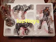 Gentle Giant Walking Dead Daryl And Wolves Statue Exclusive Signed Coa Lmt 200 New