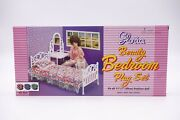 Gloria Beauty Bedroom Play Set 9314 For Doll House Furniture