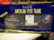 American Flyer Af Trains S Scale 2004 Christmas Box Car 6-48355