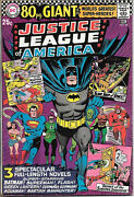 Justice League Of America Comic Book 48, Dc 1966 Very Fine- 80 Page Giant 29