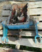 000 Ford 8000 Tractor 3pt Hitch Top Rockshaft Lift Hold Bracket Arms Arm And Cover