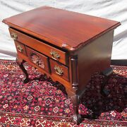 Chippendale Mahogany Philadelphia Antique Style Shell Carved Lowboy Dresser