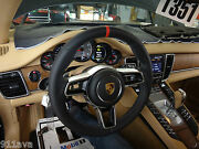 Porsche New Style Blk -red Steering Wheel And Air B Fit 2010 16 Panamera Turbo S