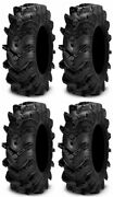 Full Set Of Itp Cryptid 6ply 36x10-17 Atv Tires 4