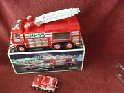 2005 Hess Red Emergency Truck W/rescue Vehicle