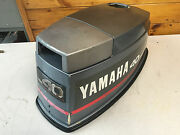 1990 40 Hp Yamaha 2 Stroke Outboard Engine Top Cowl Hood Cover Freshwater Mn