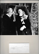 John Carradine As Dracula 1944 House Of Frankenstein 8 X 10 Autographed Picture
