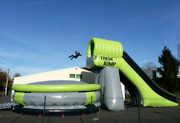 50x30x30 Commercial Inflatable Water Slide Bounce House Obstacle Course Combo