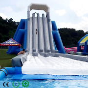 200x80x60 Commercial Inflatable Water Slide Bounce House Obstacle Course Combo