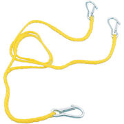 Parts Unlimited Snowmobile 3-point Tow Strap Rope
