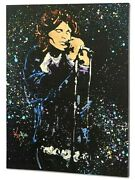 Kat-morrison At Mic-gall Wrapped Original Acrylic Painting/canvas/coa/30x 40