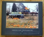 Signed - Joel Sternfeld - American Prospects - 1987 1st Edition And 1st Print Fine
