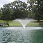 Kasco 3400hvfx-100 Aerating Fountain - 240v 3/4 Hp 100and039 Cord C85 Controller