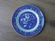 Vintage 1940s/1950s Swinnertons Blue And White China Tea Plate - Old Willow - Vgc