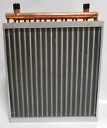 16x16 Water To Air Heat Exchanger Hot Water Coil Outdoor Wood Furnace