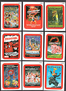 Wacky Packages All New Series 11 Topps/2013 Coming Distractions Red Card Set
