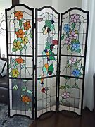 Meyda Stained Glass Room Divider Custom Solid Built Top Quality