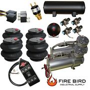 V Air Compressors 480c Pewter 4 3/8 Valves 2600 Air Bags 7switch 5 Gal Tank