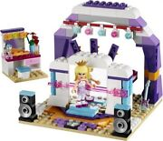 Lego Friends 41004 And 41022 - Rehearsal Stage And Bunny's Hutch - No Box