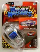 1957 And03957 Chevy Bel Air Sport Coupe Muscle Machines The Original Series 3 Diecast