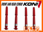 Land Rover Discovery Series 2 99-04 Koni Adjustable Front And Rear Shock Absorbers