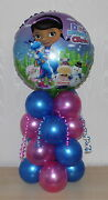 Doc Mcstuffins Clinic - Happy Birthday-foil Balloon Display-table Centrepiece