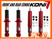 Koni Adjustable Front And Rear Shock Absorbers For Toyota Prado 90 Series 1996-02